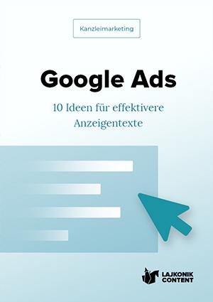 E-Book-Cover Kanzleimarketing Anzeigen 10 Ideen
