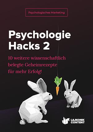 E-Book-Cover Psychologie Hacks 2