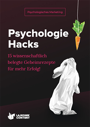 E-Book-Cover Psychologie Hacks