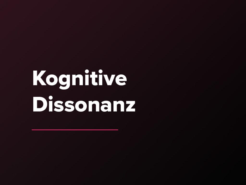 Kostenloser Verkaufspsychologie-Kurs: Kognitive Dissonanz