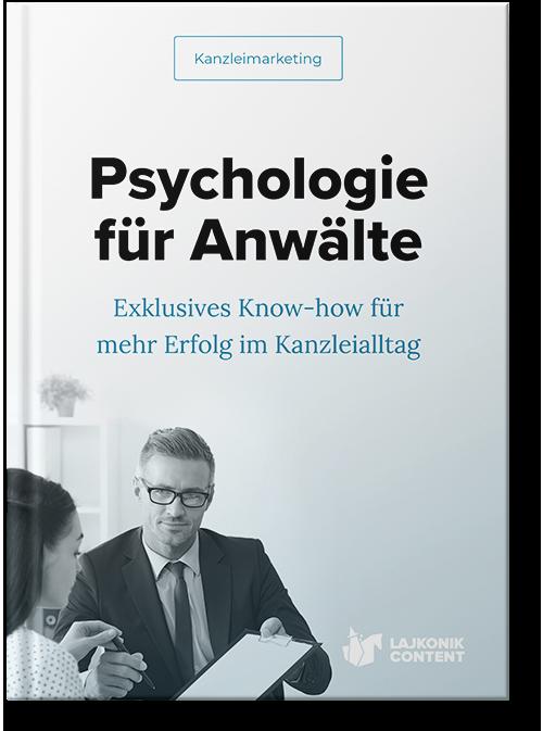 E-Book Ratgeber Psychologie für Rechtsanwälte